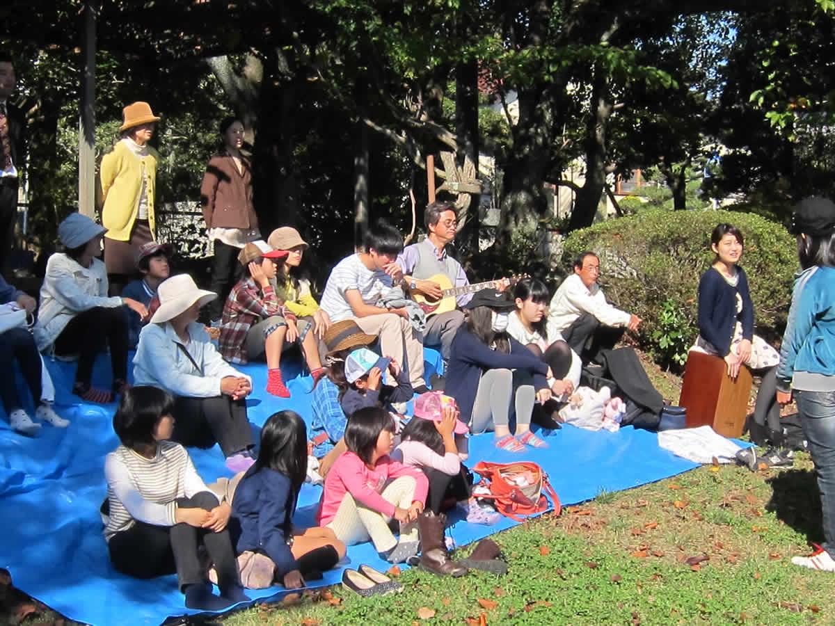 教会学校野外礼拝